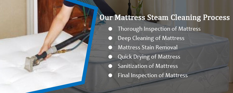 Our Mattress Steam Cleaning Process