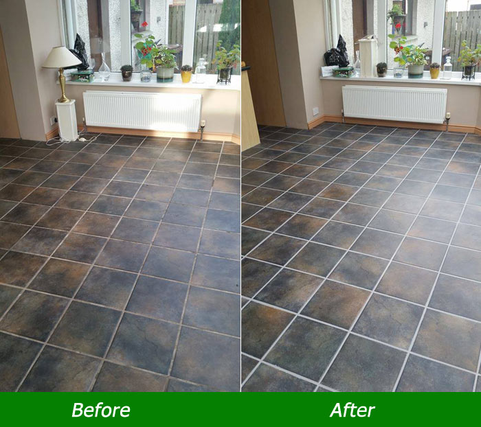 Tiles and Grout Cleaning Purga